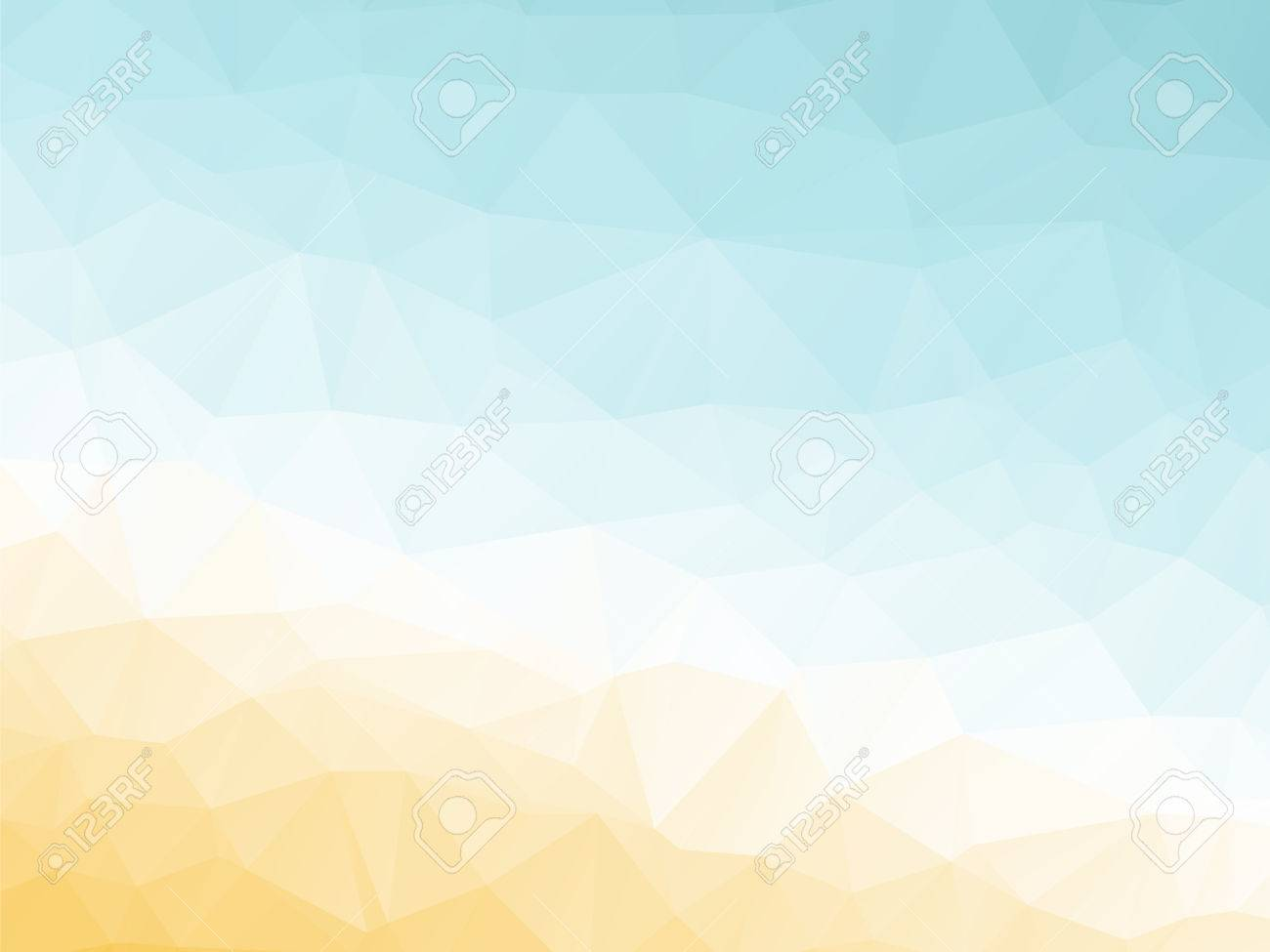 abstract triangular yellow white orange summer background royalty