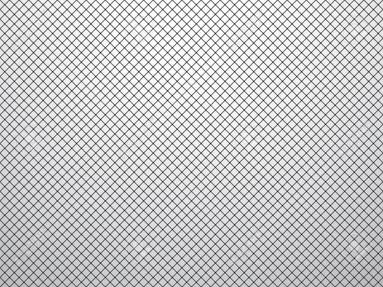Simple black mesh texture with gray vignette stock vector 39993790