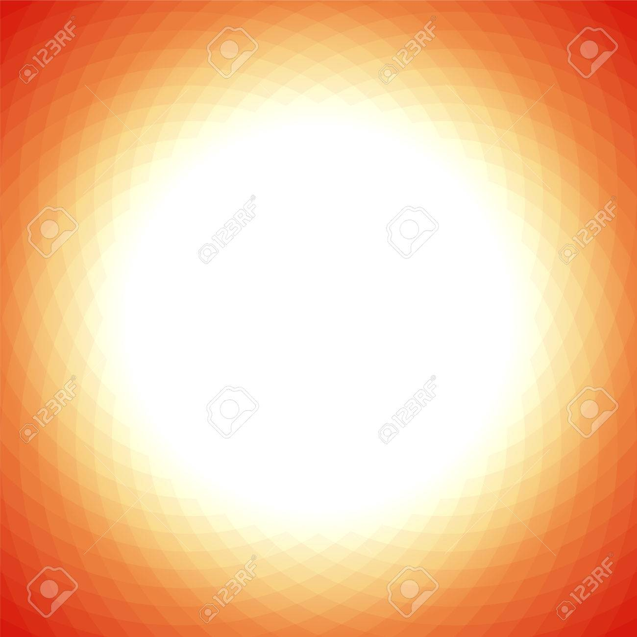 Background image center - Vector Modern Yellow Orange Geometric Background With White Center