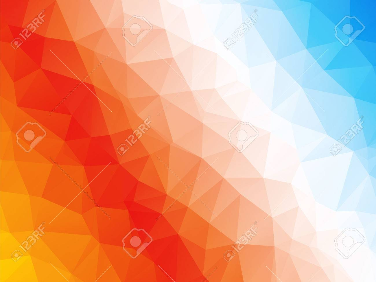 Abstract geometric red orange blue white triangle background royalty abstract geometric red orange blue white triangle background stock vector 47667055 altavistaventures Images