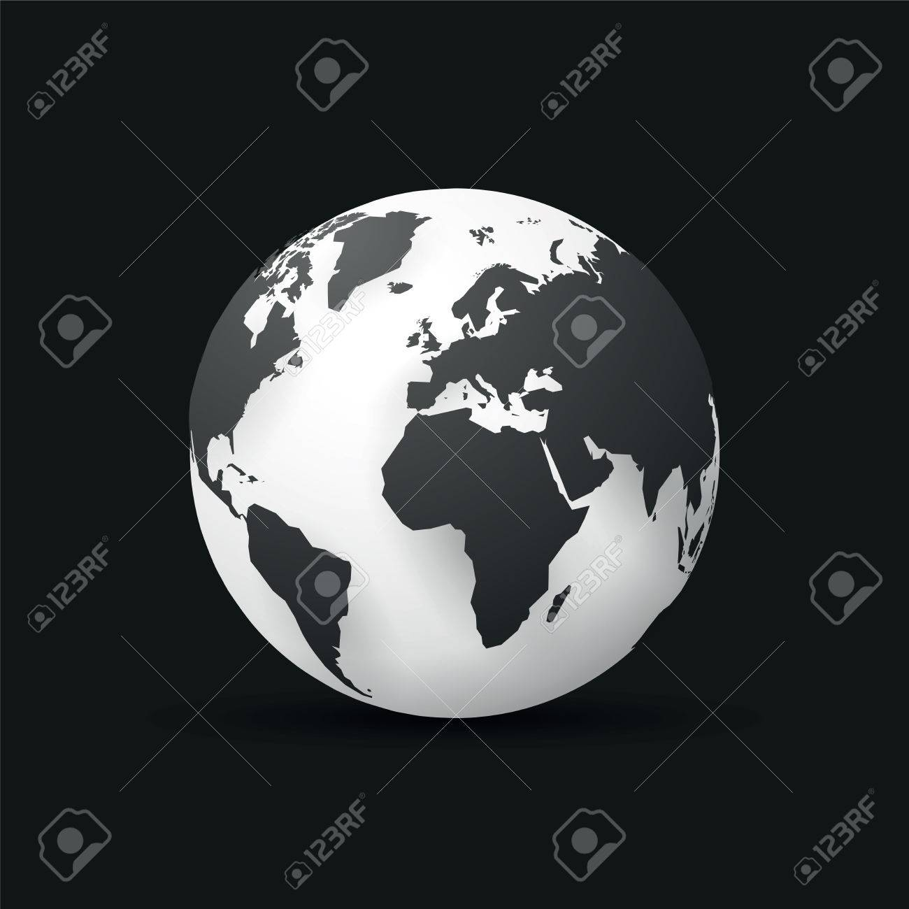 Black earth globe world map design royalty free cliparts vectors black earth globe world map design stock vector 72320216 gumiabroncs Image collections