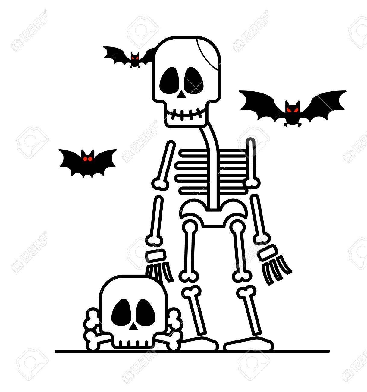 Halloween Skeleton.Halloween Skeleton Character