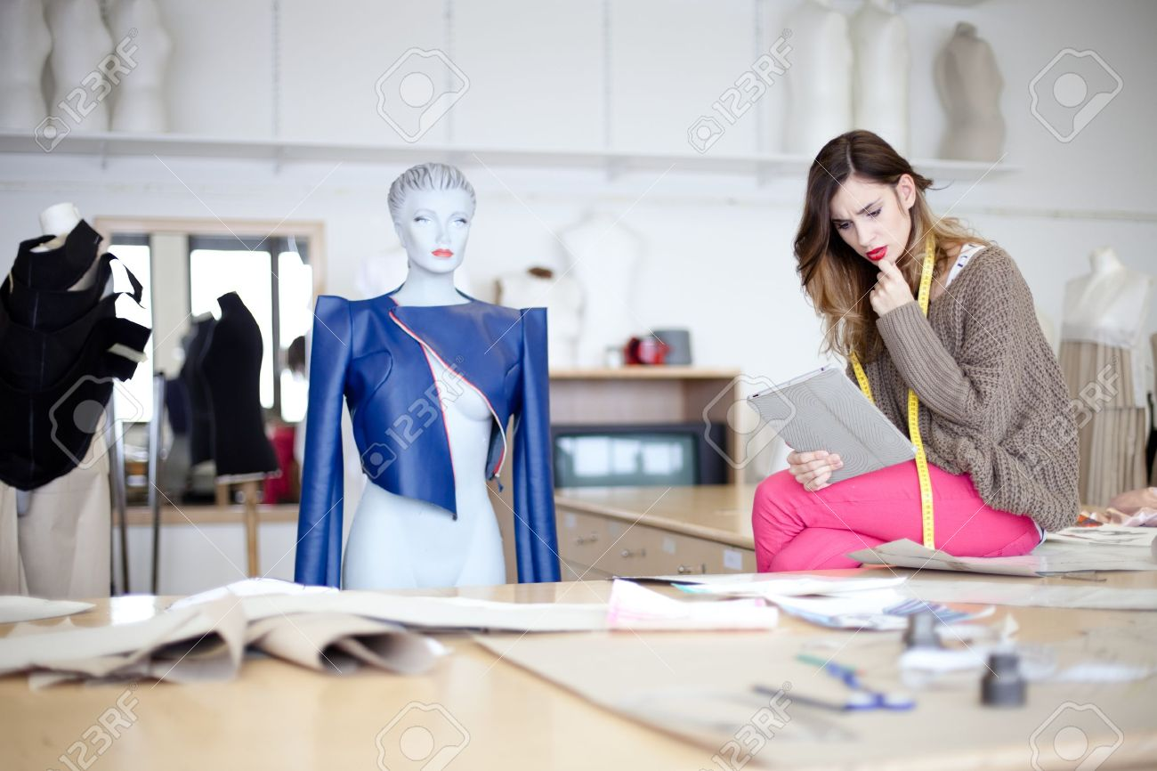 Becoming a designer fashion 12