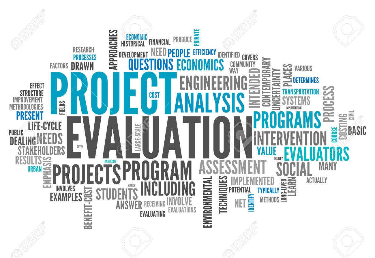Word Cloud With Project Evaluation Related Tags Photo – Project Evaluation
