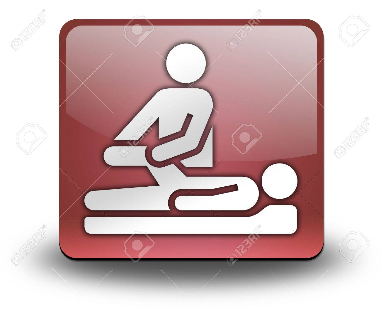Cartoon physical therapy - Pictogram With Physical Therapy Symbol Stock Photo 27068986
