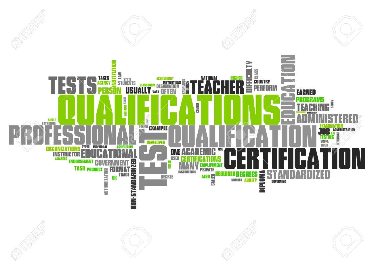 Word Cloud with Qualifications related tags - 38464946