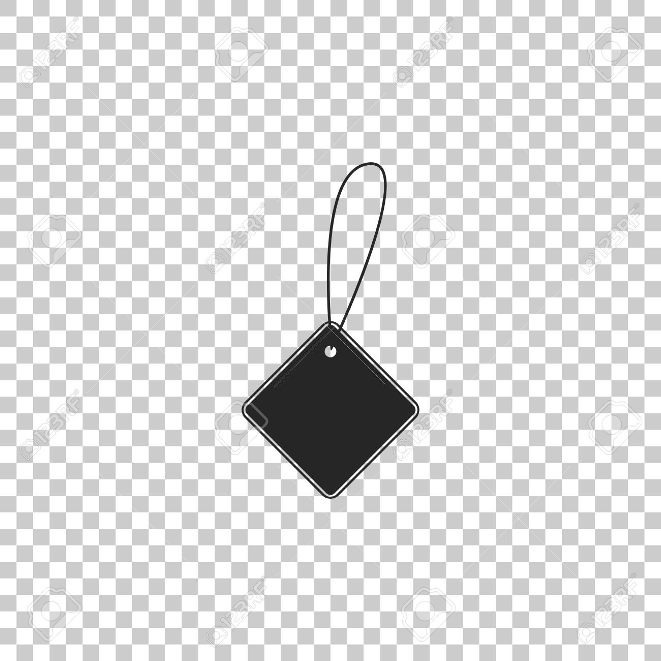 Blank Label Template Price Tag Icon Isolated On Transparent Background