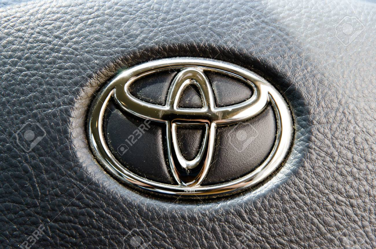 Logo Of Toyota Camry Car On Displayyota Group Is Best Known