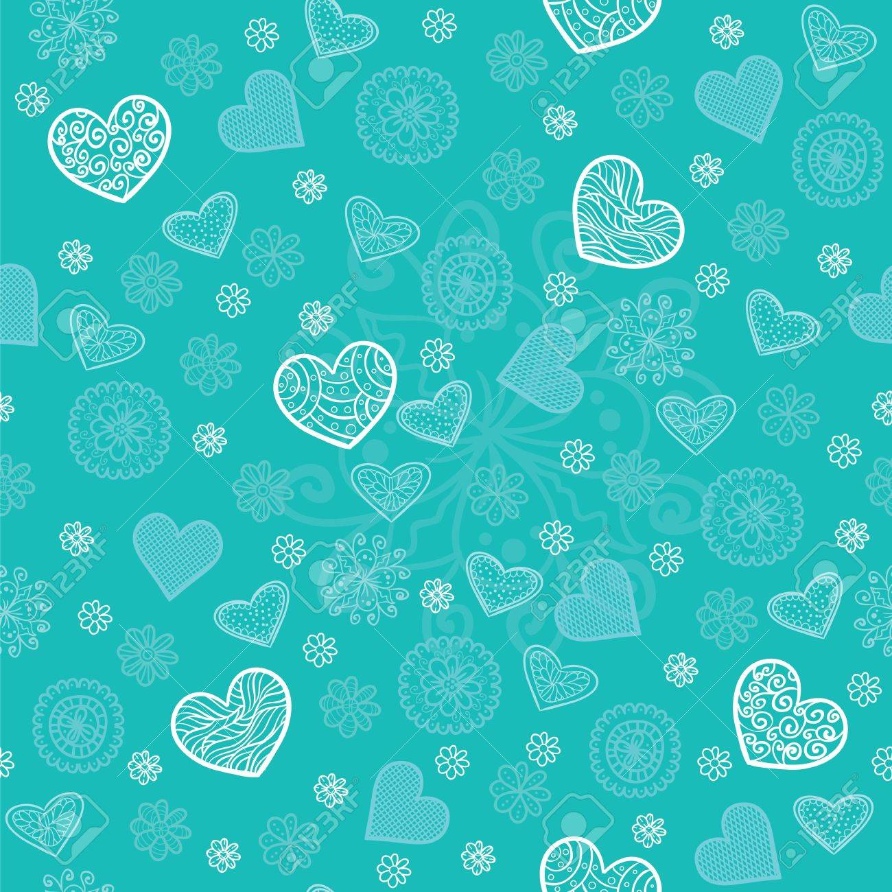 Mint and sugar seamless pattern Stock Vector - 11966493