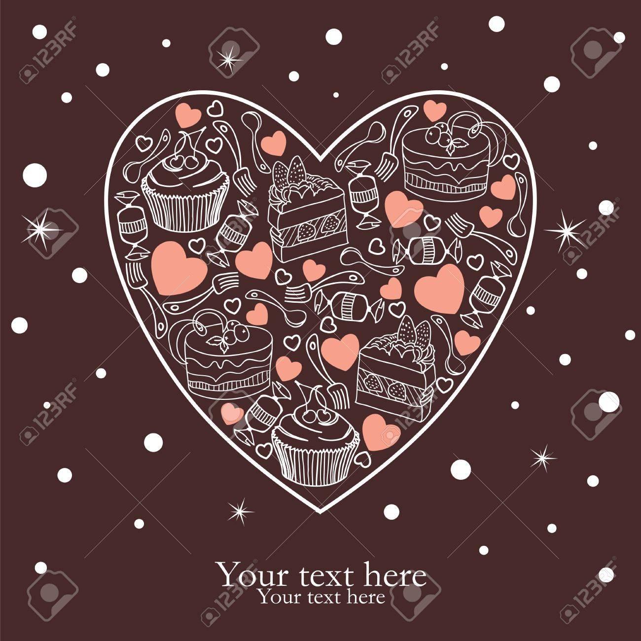 For my precious sweetheart Stock Vector - 11966500