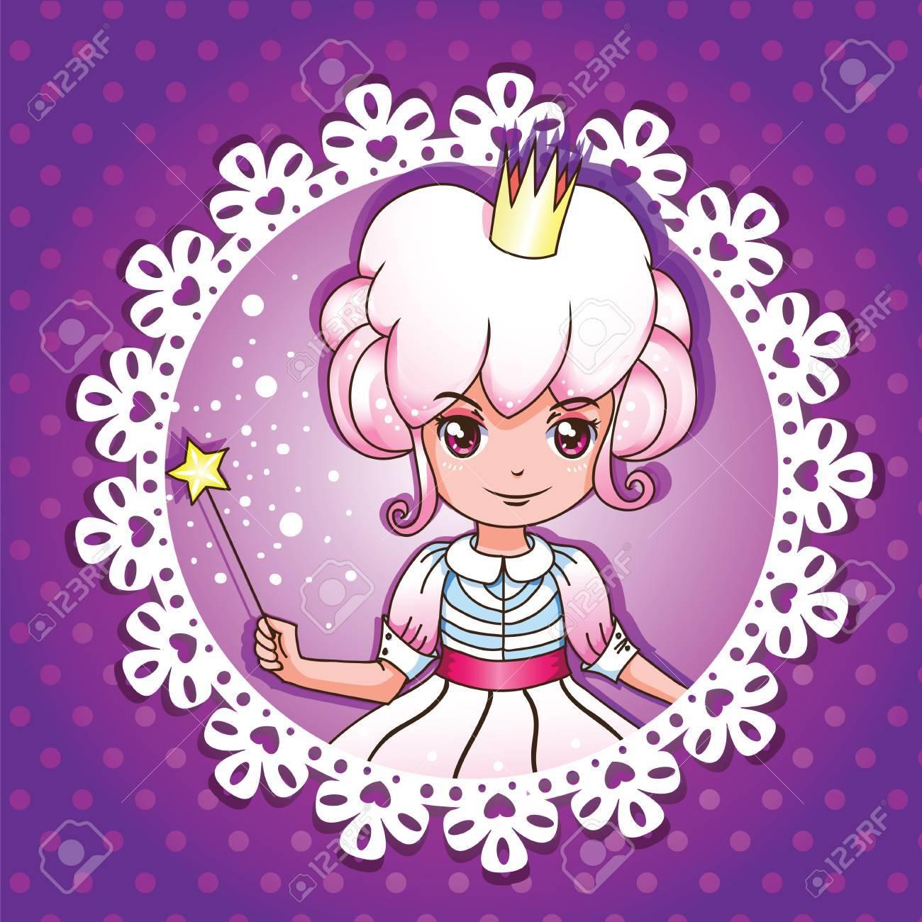 Sugar fairy princess portrait series 1/ 4 Stock Vector - 12197294