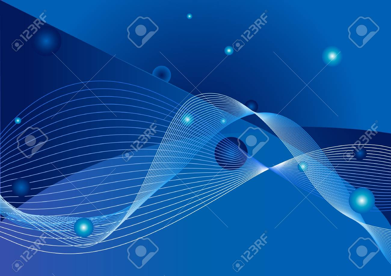 Abstract background with blue Stock Photo - 3767392