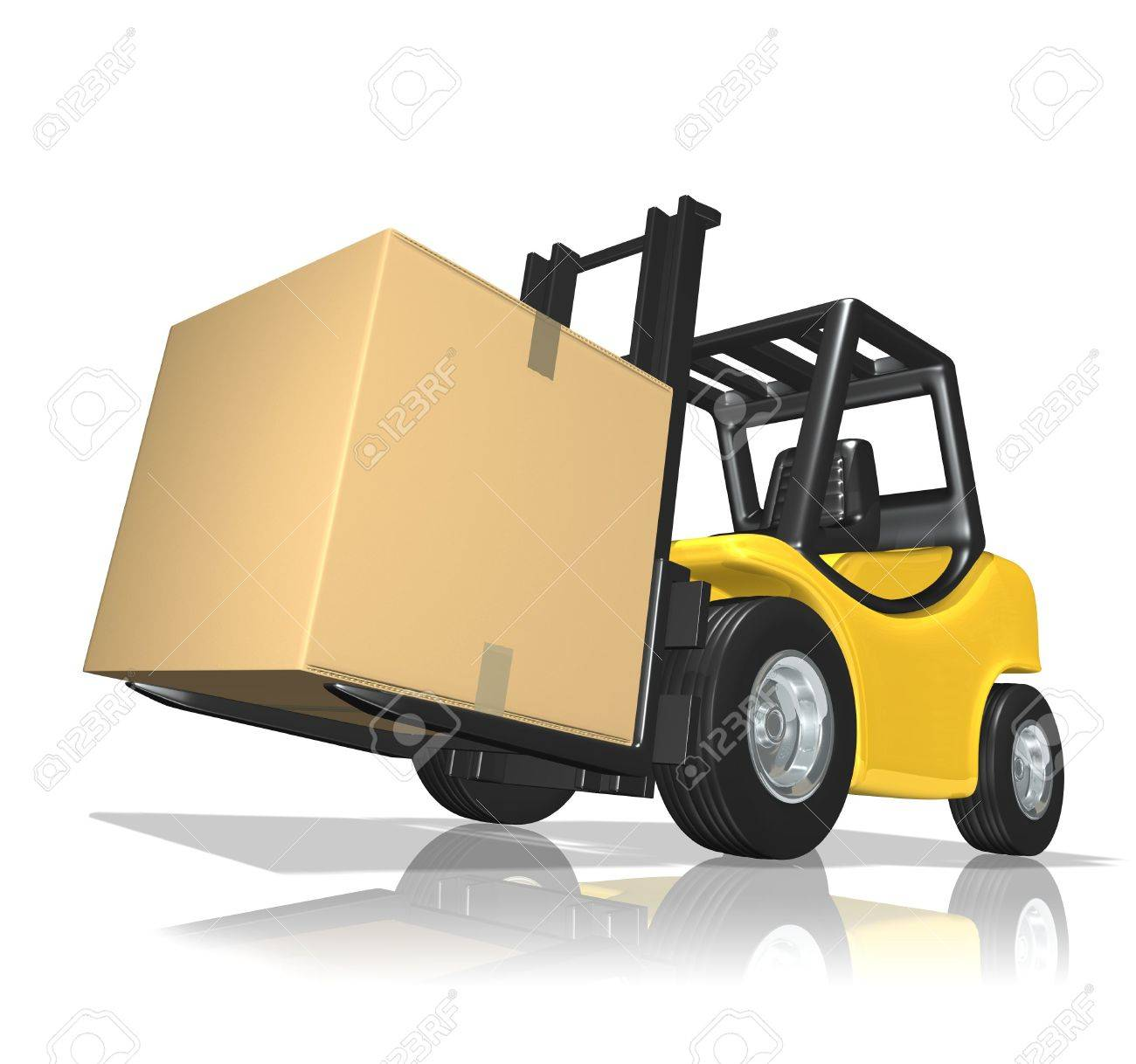 Big delivery Stock Photo - 6516444