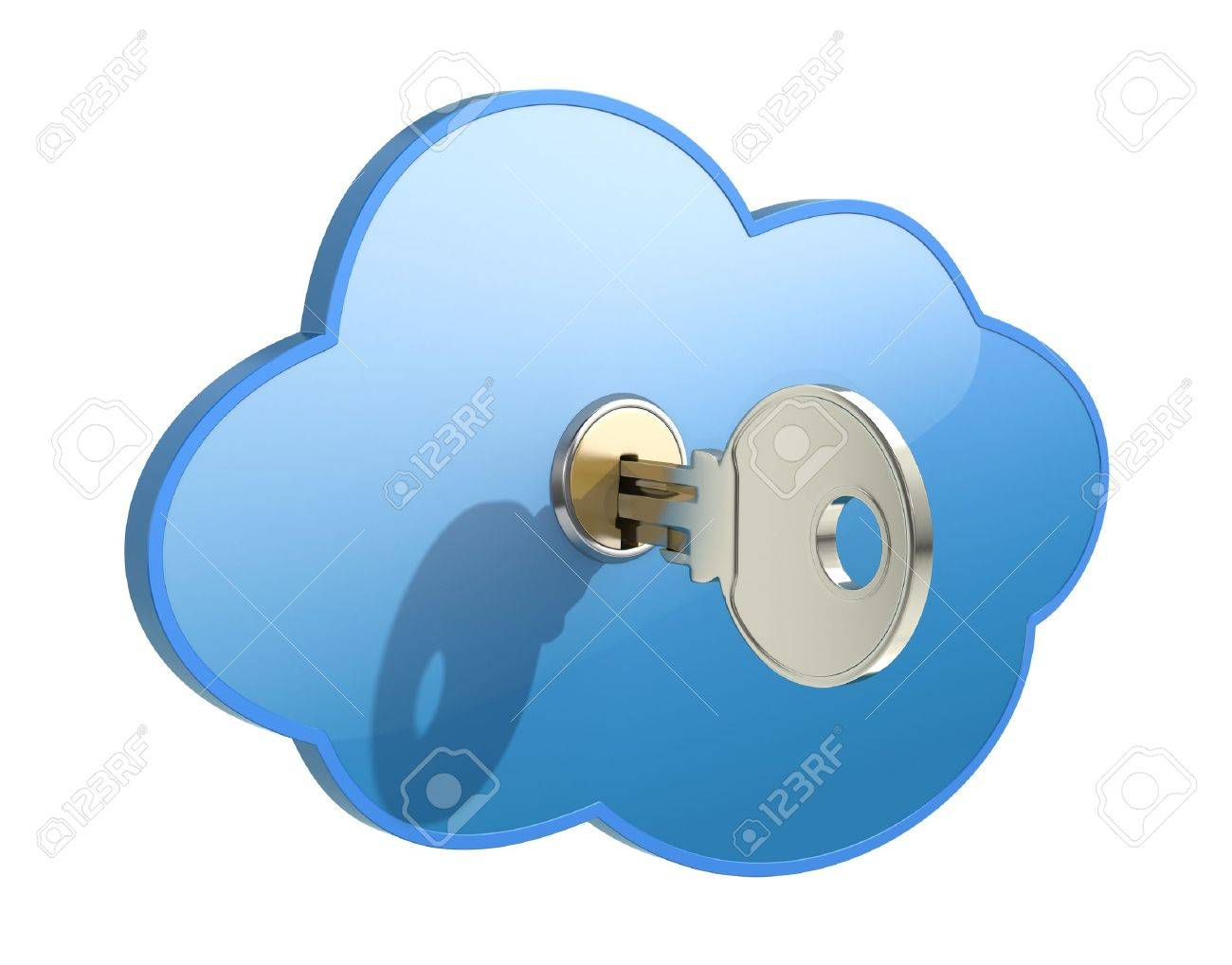 Cloud computing concept Stock Photo - 9984698