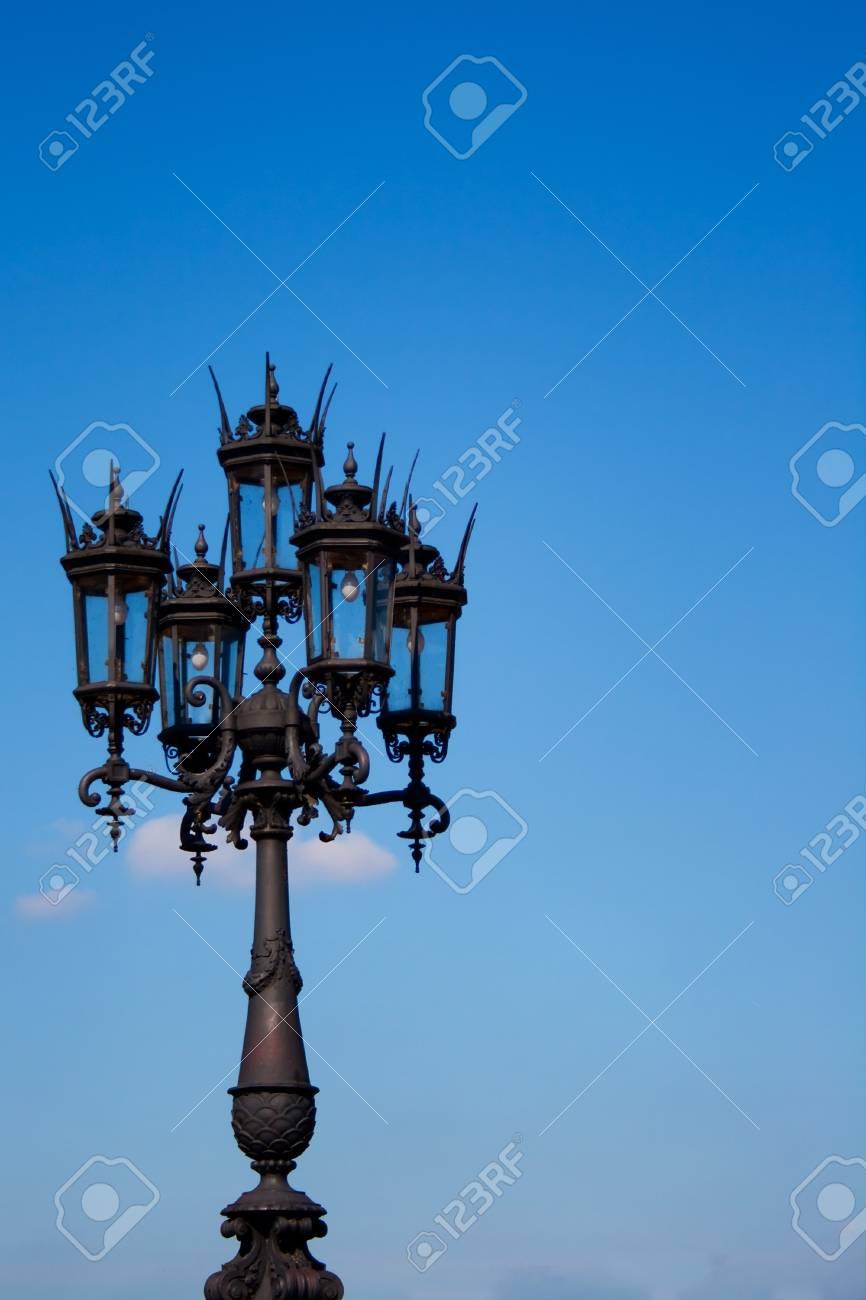 lantern on blue dresden sky Stock Photo - 7860758