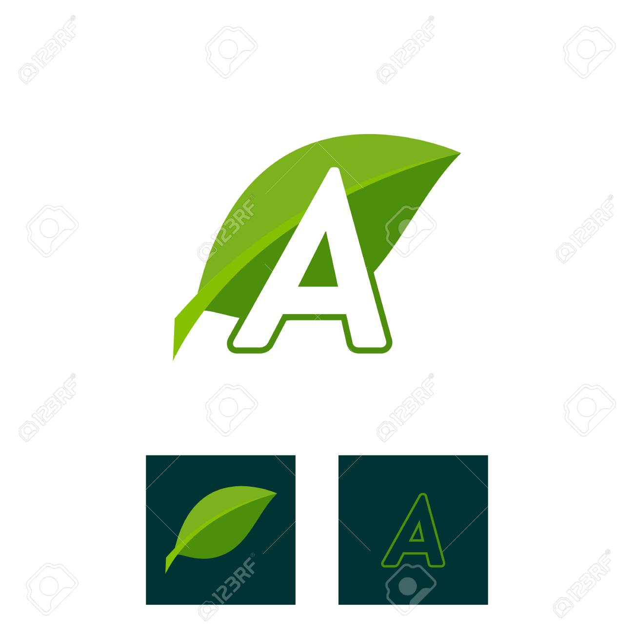 A concept logo leaf letter a natural green leaf symbol initials a concept logo leaf letter a natural green leaf symbol initials n icon design biocorpaavc Gallery