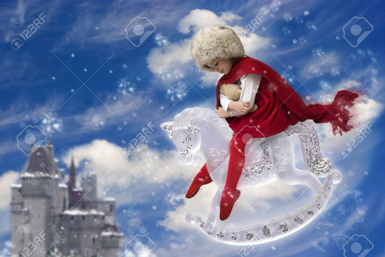 Little snow princess Stock Photo - 3681388