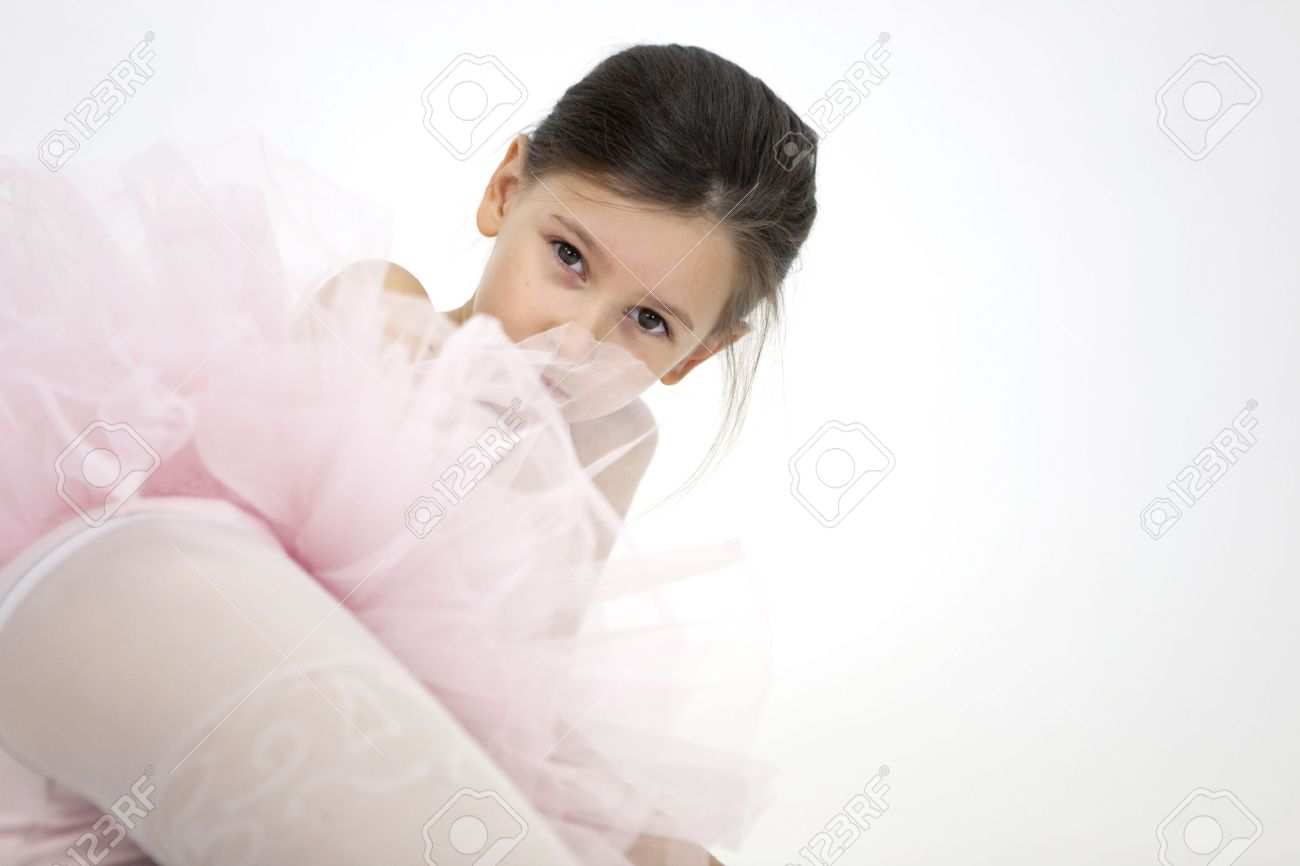 sweet little ballerina girl stock photo picture and royalty free