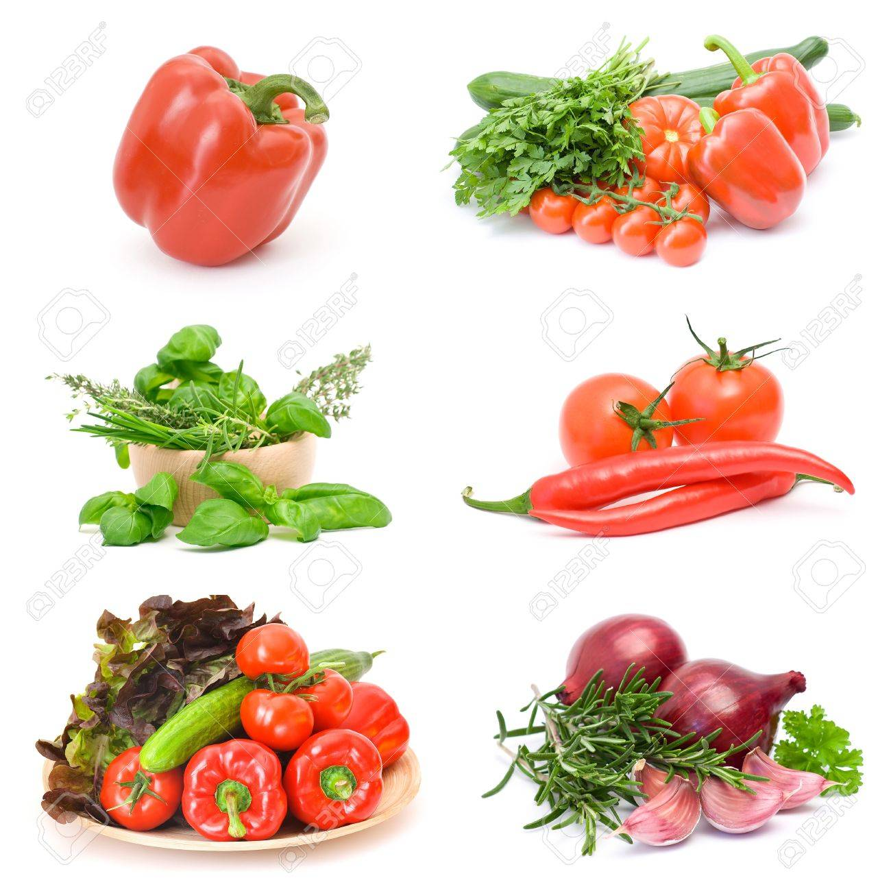 vegetables collections Stock Photo - 12887384