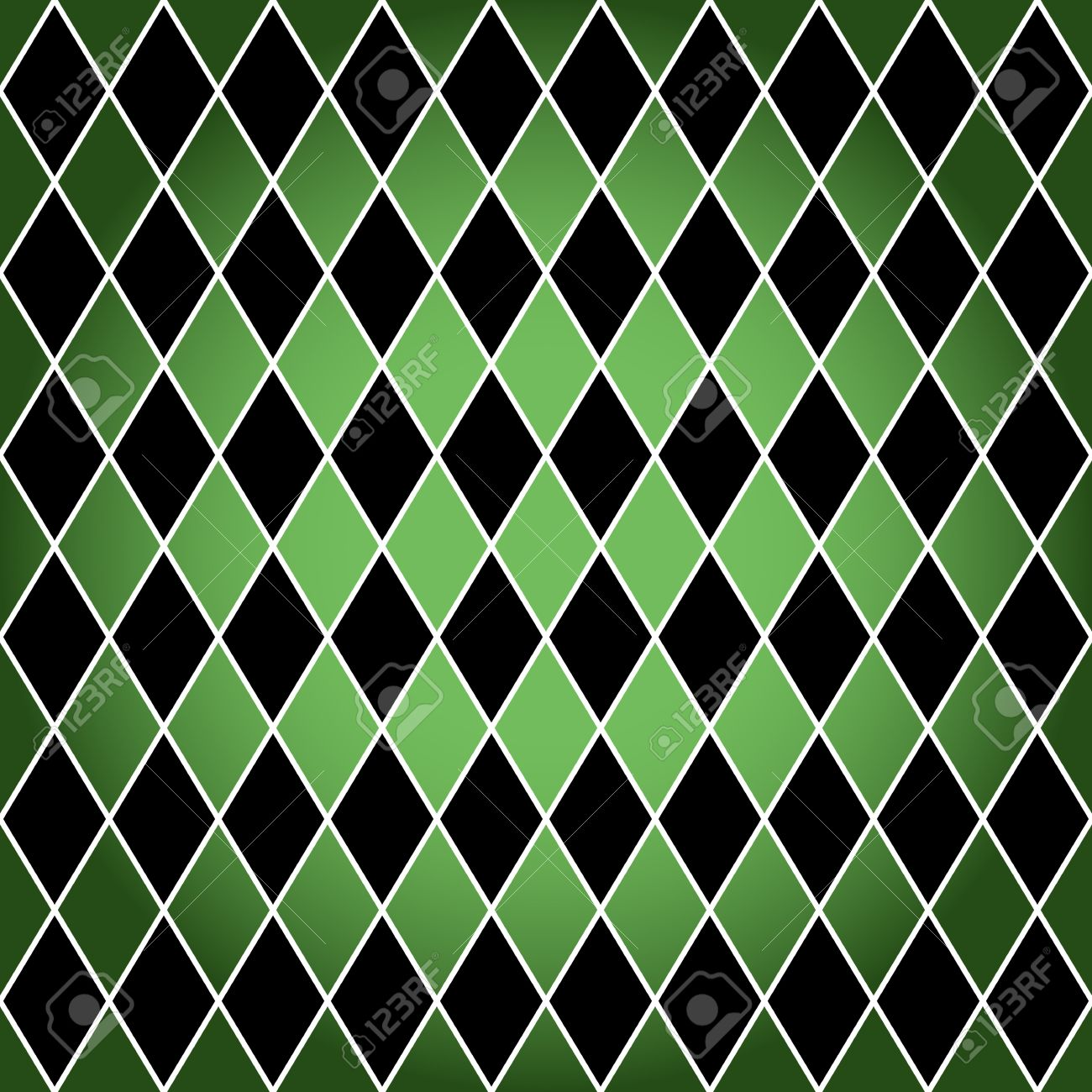 Pics photos merry christmas argyle twitter backgrounds - Argyle Seamless Harlequin Or Argyle Pattern Made Of Black Diamonds With White Border Over Green
