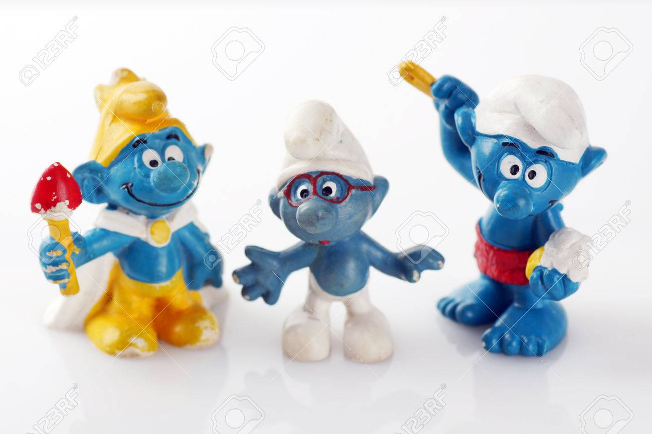 """THE SMURFS COLLECTIBLE FIGURE 6/"""""""