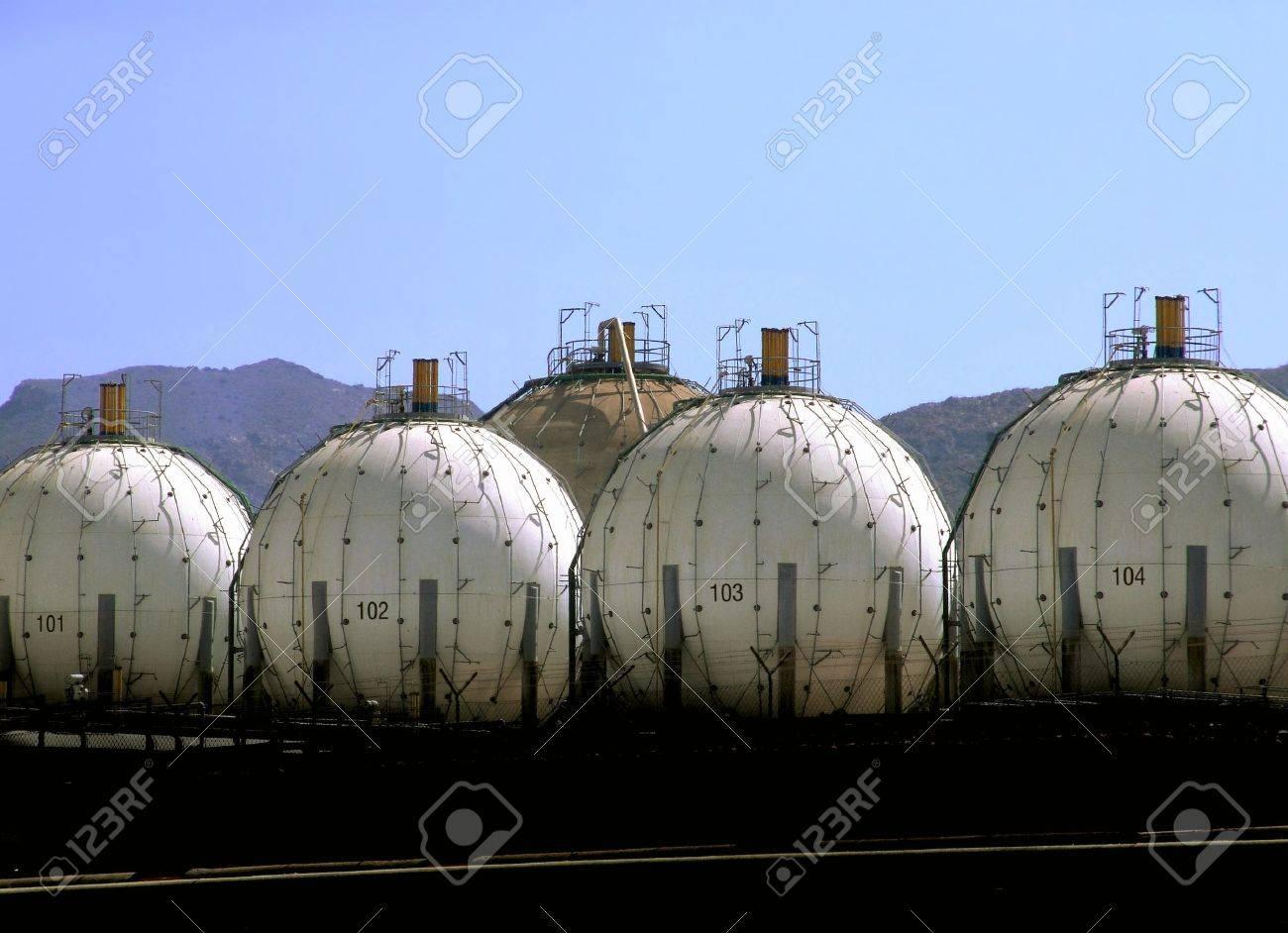 LPG Storage Tanks Stock Photo - 5656895