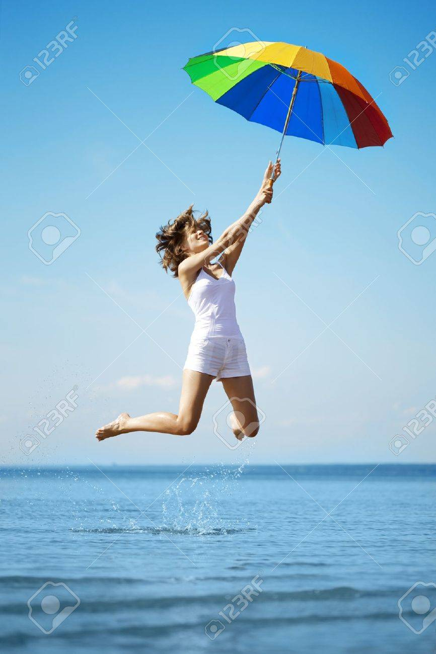 rainbow umbrella stock photos u0026 pictures royalty free rainbow