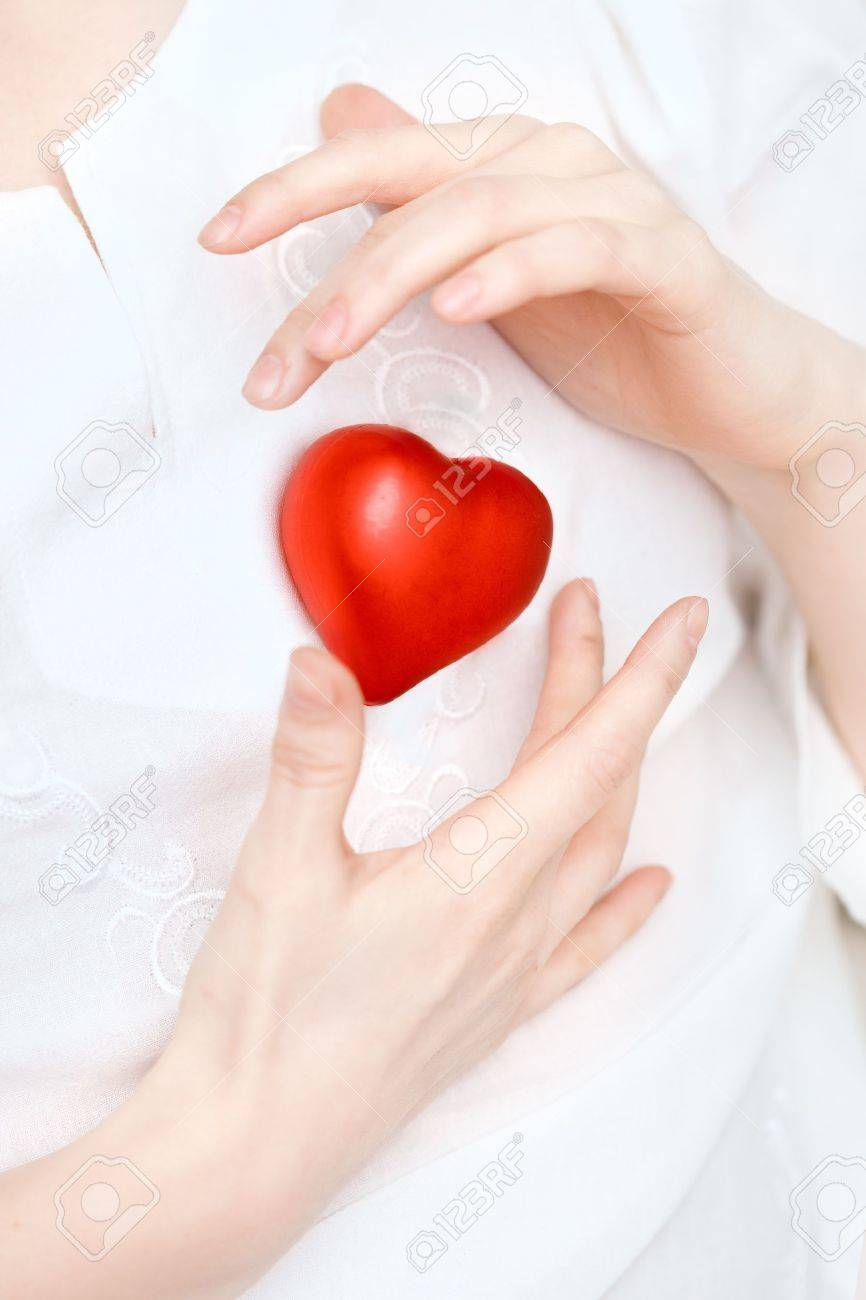 Image of hands store heart Stock Photo - 10704919
