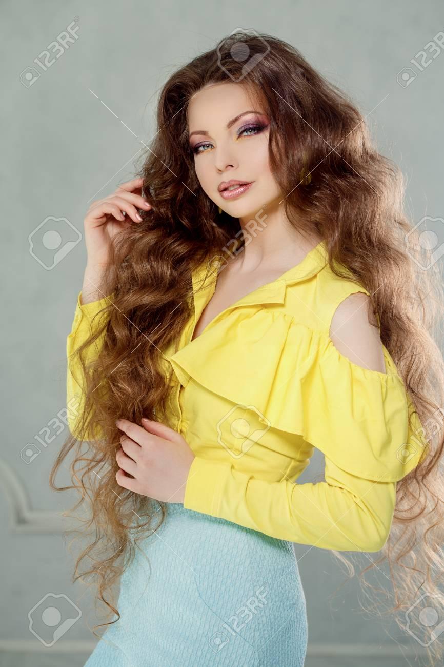 yellow Morden girl