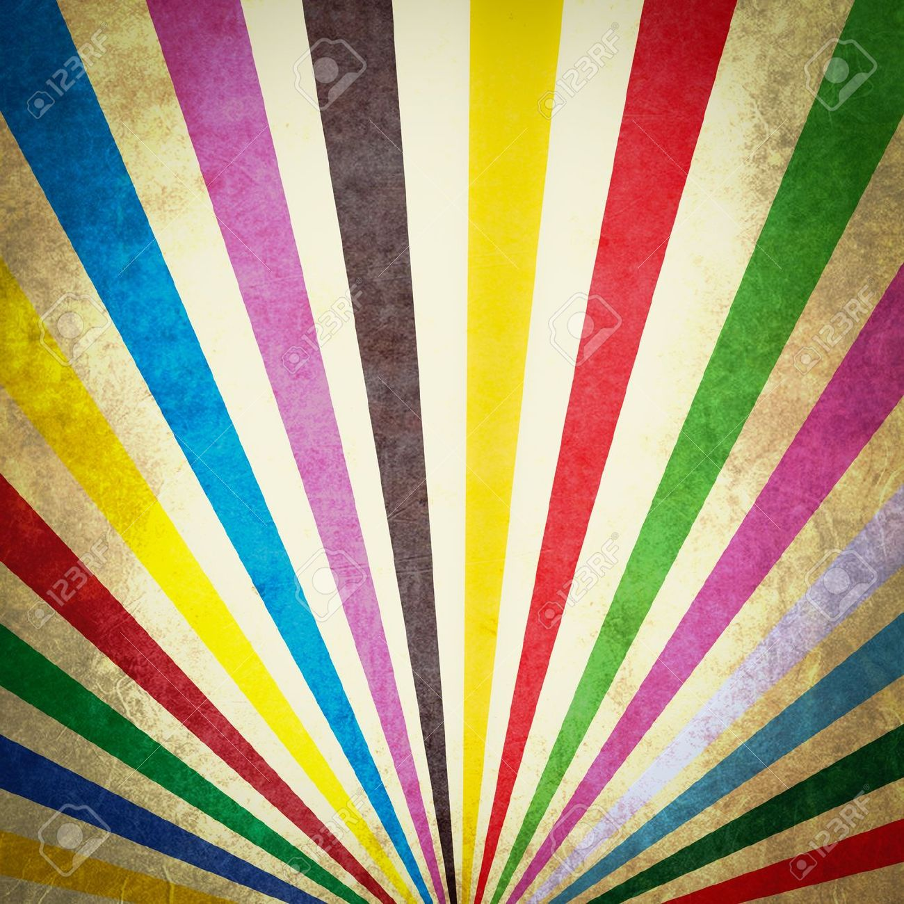 multi color sunbeams grunge background poster stock photo picture