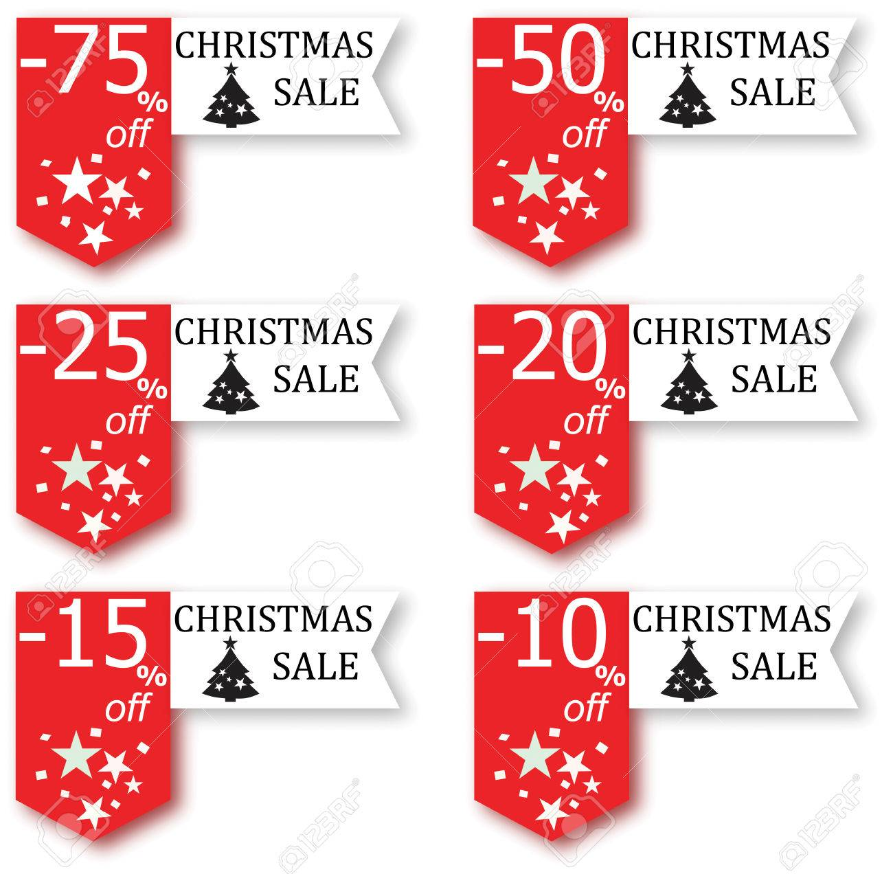 Christmas Sale Sign Royalty Free Cliparts, Vectors, And Stock ...