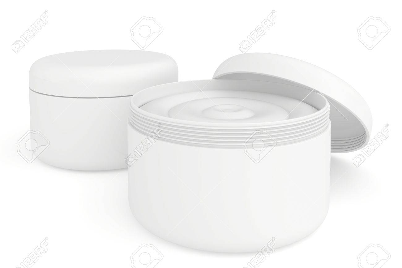 several containers of cream - 23822536