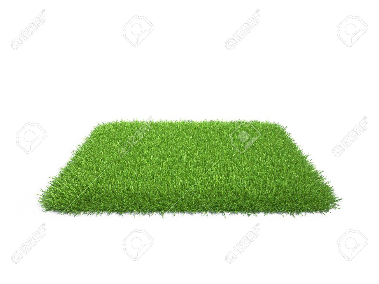 square piece of cropped grass to be installed - 23822902