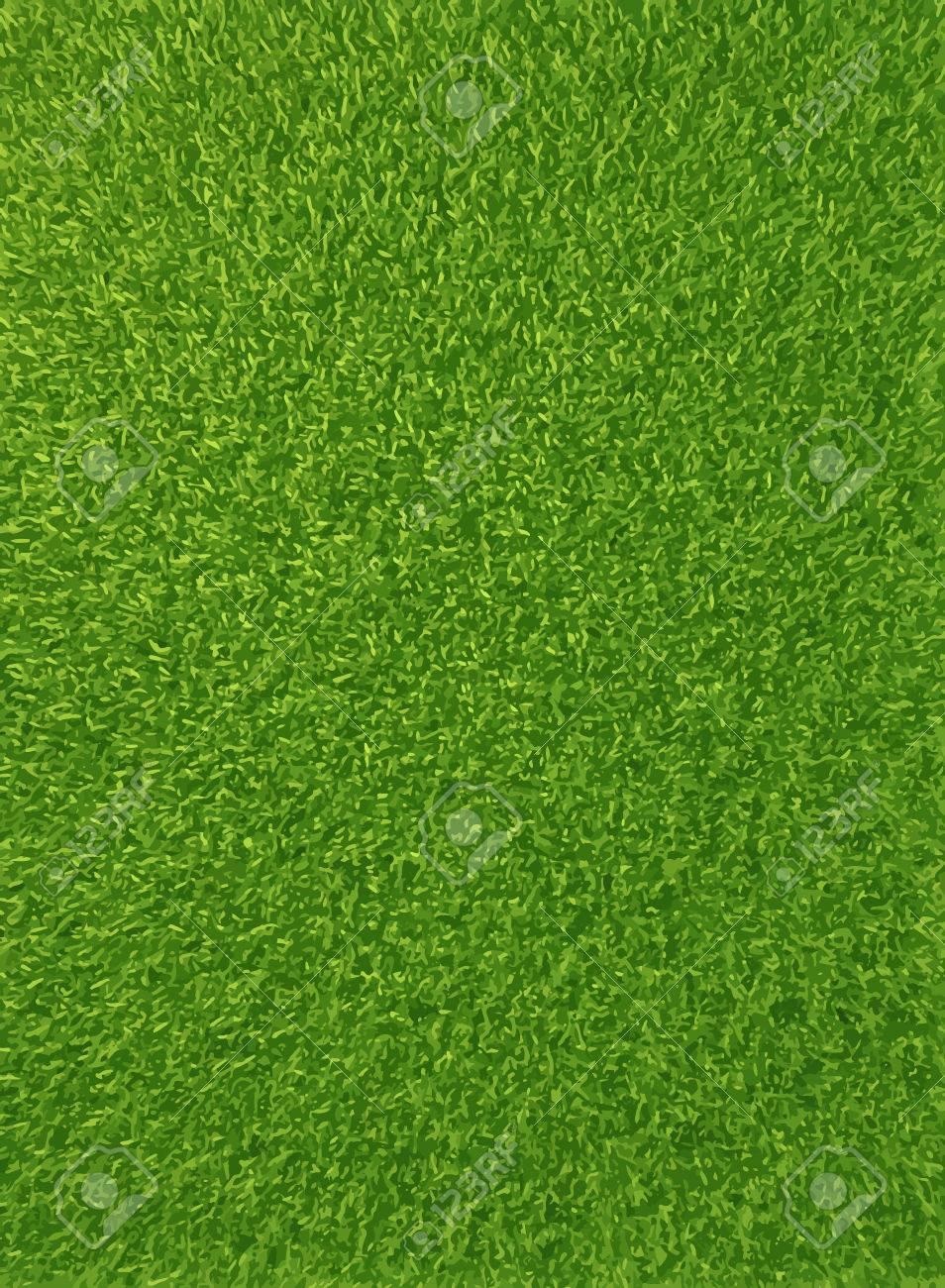 Vector background texture of fresh green grass. - 46273314