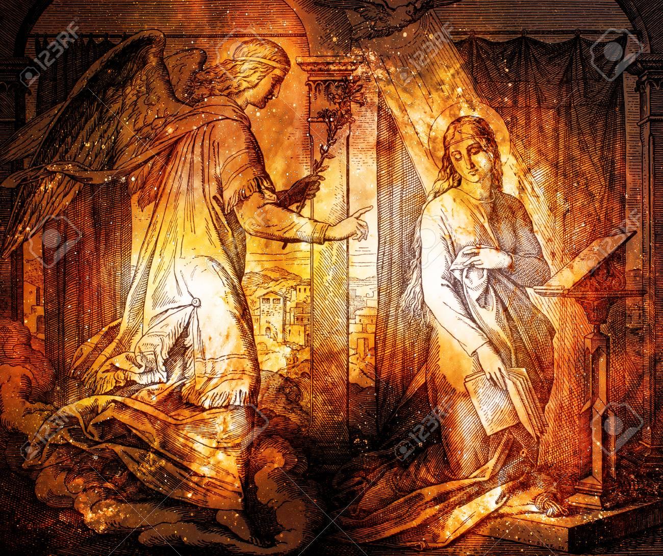 1937 聖書 st vojtech 発行 trnava スロバキア jesus birth 大天使