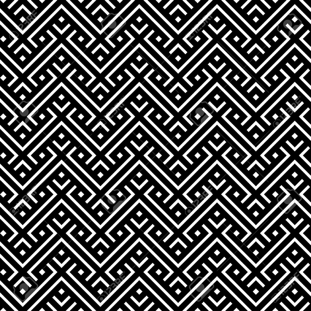 Moroccan geometric pattern royalty free stock photos image 13547078 - Seamless Pattern For A Fabric Moroccan Pattern Black And White