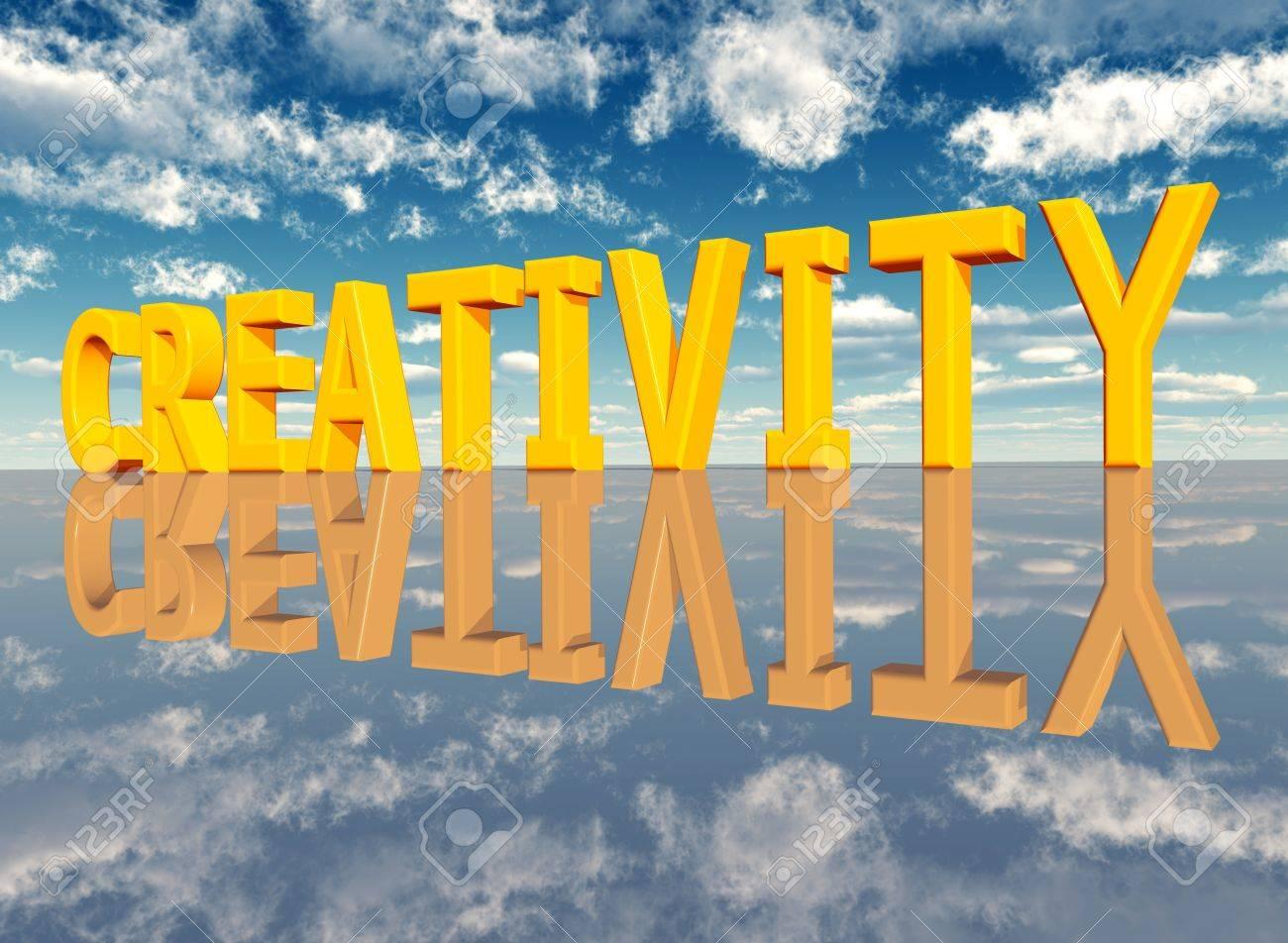 The Word Creativity Stock Photo - 17041470