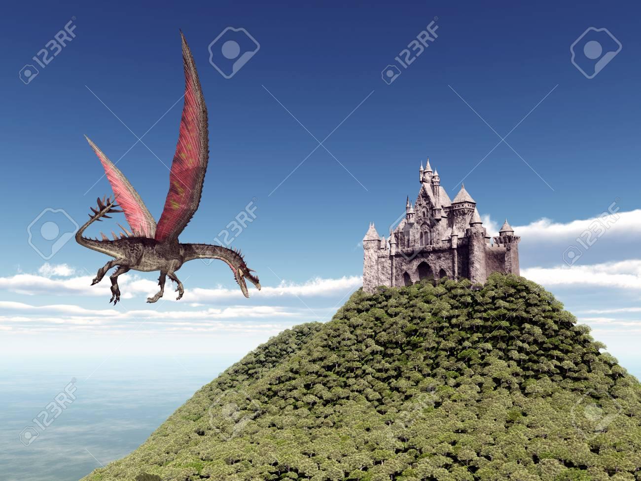 ドラゴン 城 と