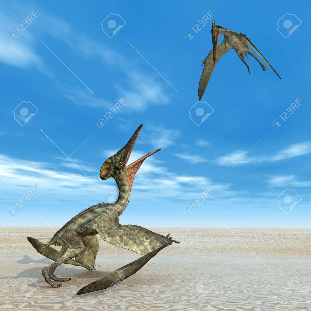 翼竜プテロダクティルス の写真素材・画像素材 Image 27946833.