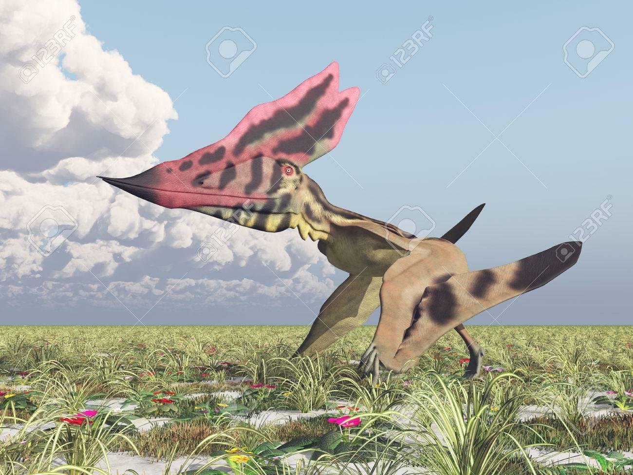 翼竜タラソドロメウス の写真素材・画像素材 Image 41157892.