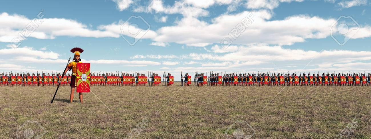 ローマ軍団 の写真素材・画像素材 Image 52595427.