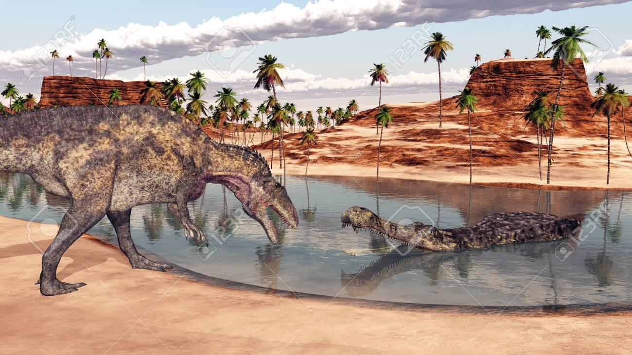 アクロカントサウルス、サルコス...