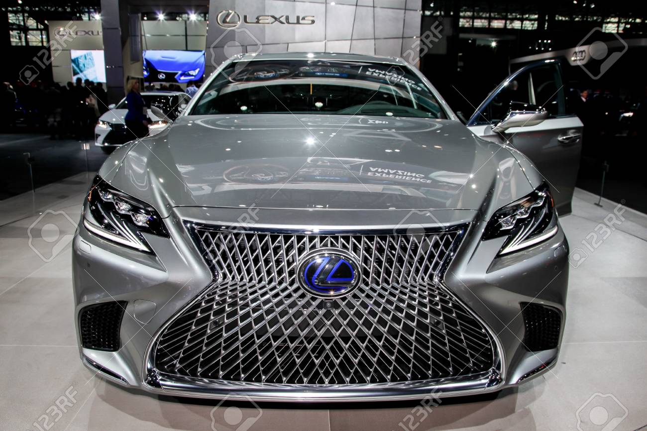 NEW YORK APRIL Lexus LSh Shown At The New York - Nyc car show javits center