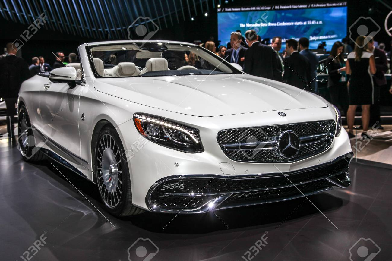 New York April 12 Mercedes Benz Maybach S 650 Cabriolet Shown