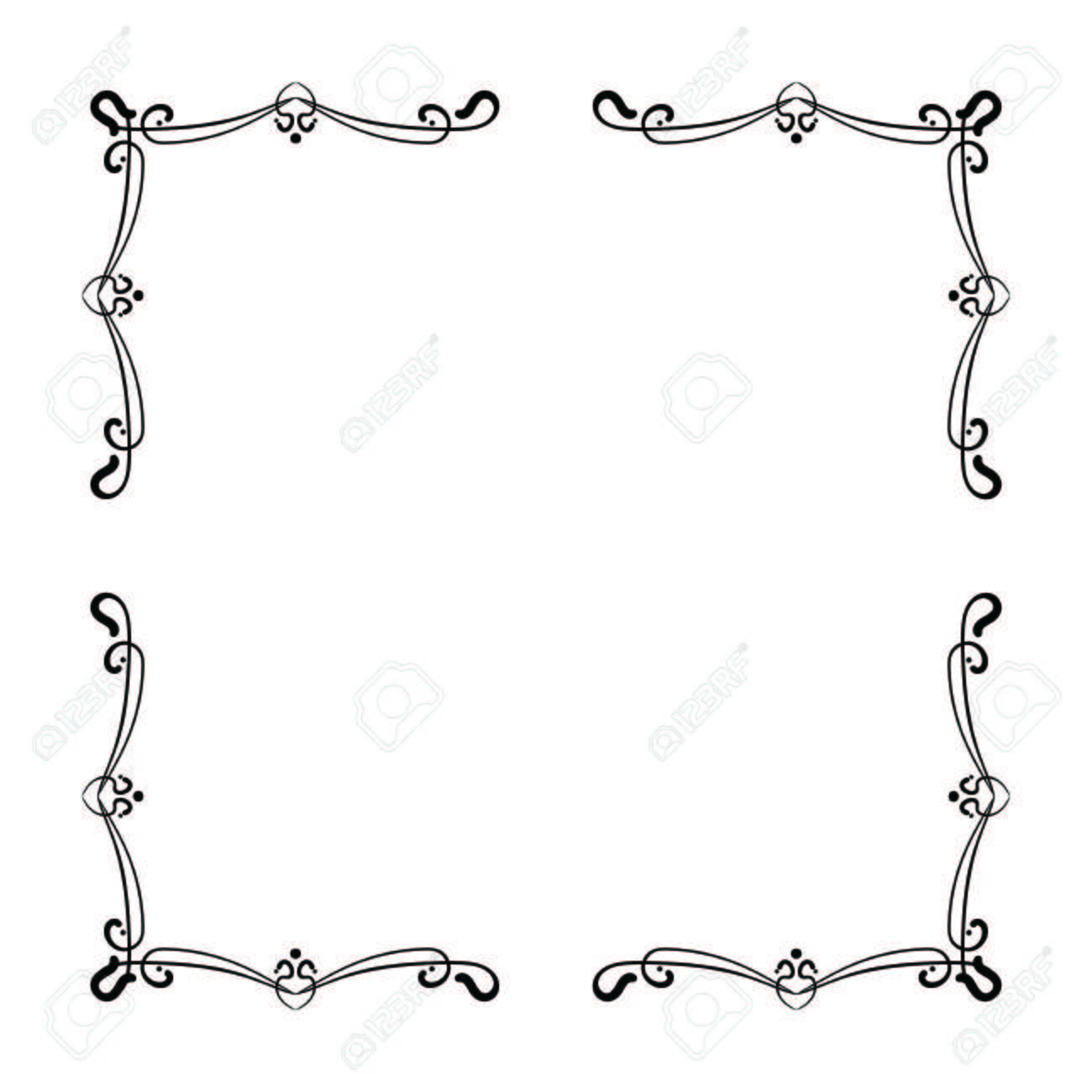 Simple frame design Background Simple And Elegant Square Frame Design Template For Labels And Logos Vector Illustration Stock 123rfcom Simple And Elegant Square Frame Design Template For Labels And