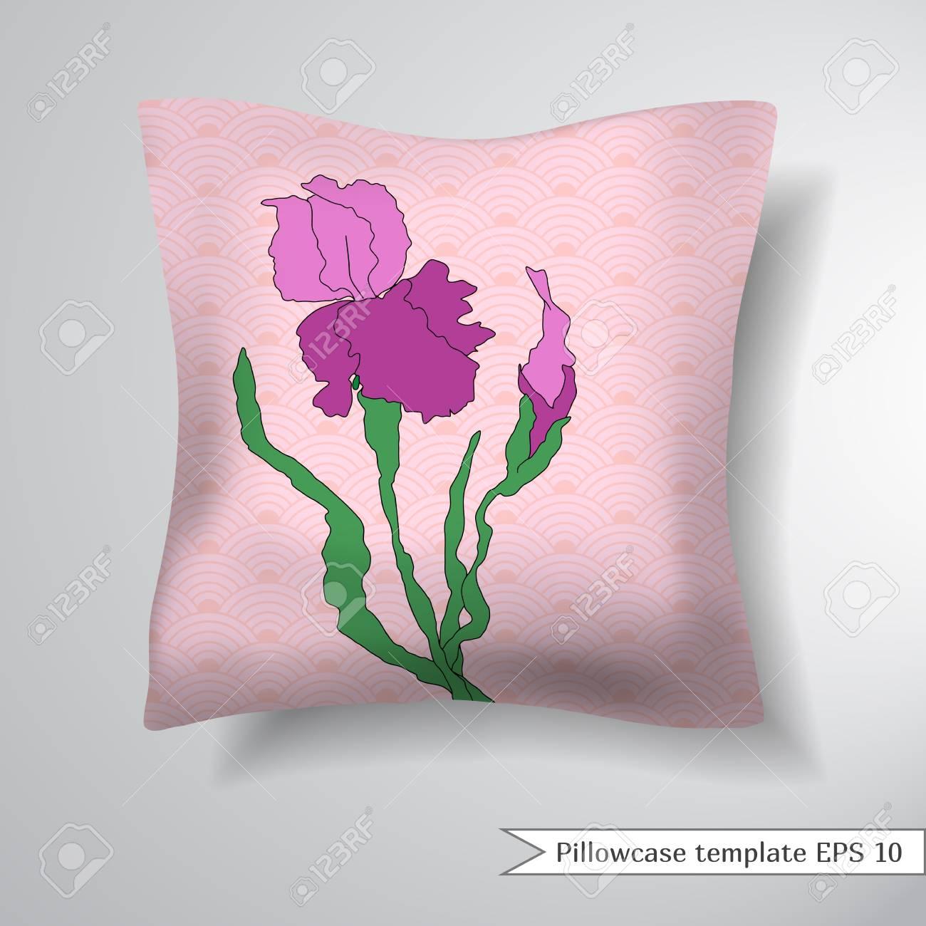 Lujoso Plantilla Plegable De Iris Ornamento - Ejemplo De Colección ...