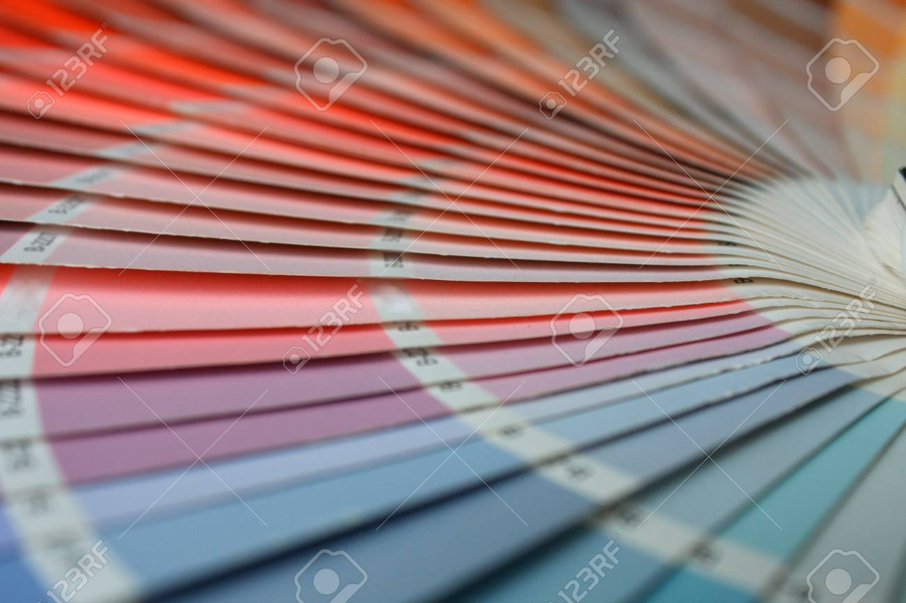 Ral Pantone open ral pantone sle colors catalogue stock photo picture and