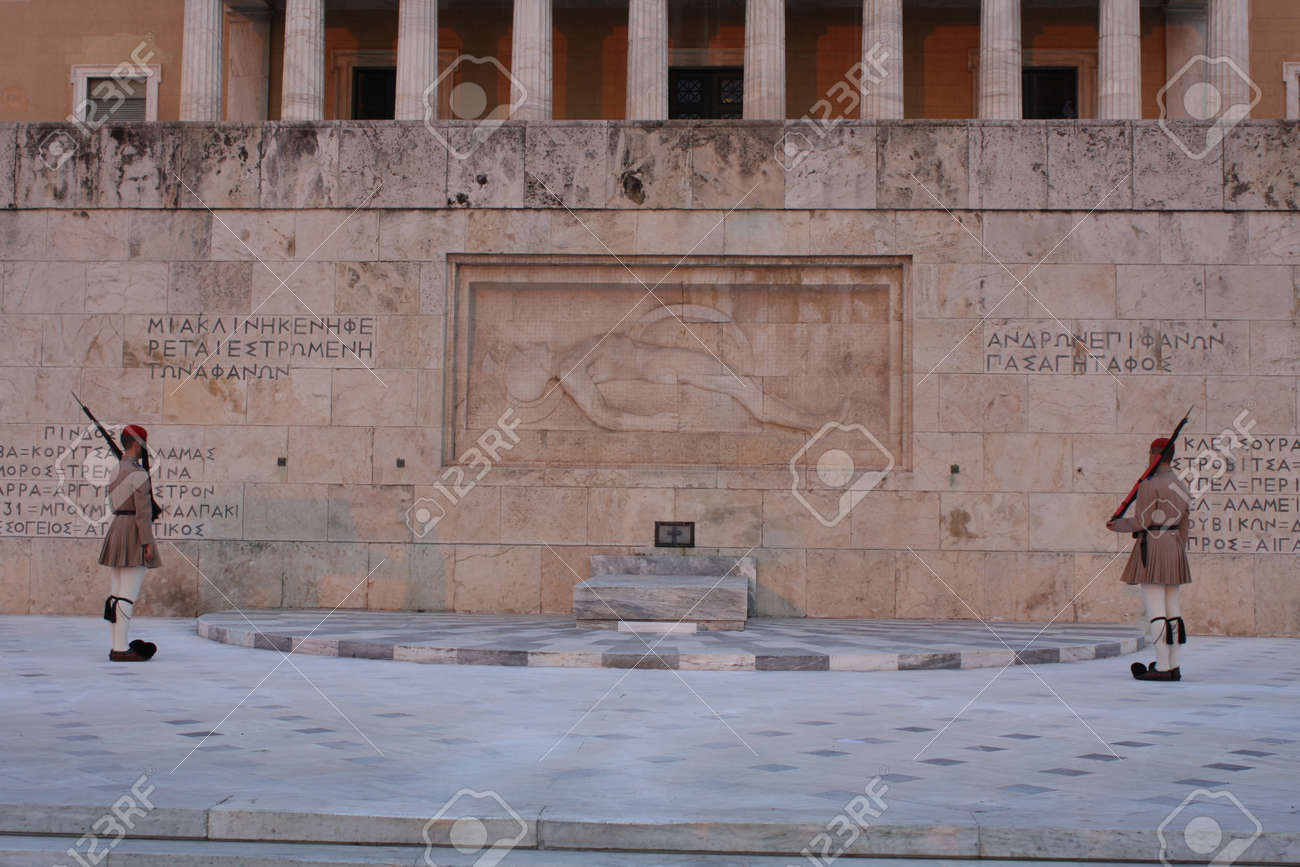 The Hellenic Parliament and The Tomb of the Unknown Soldier - 148972896