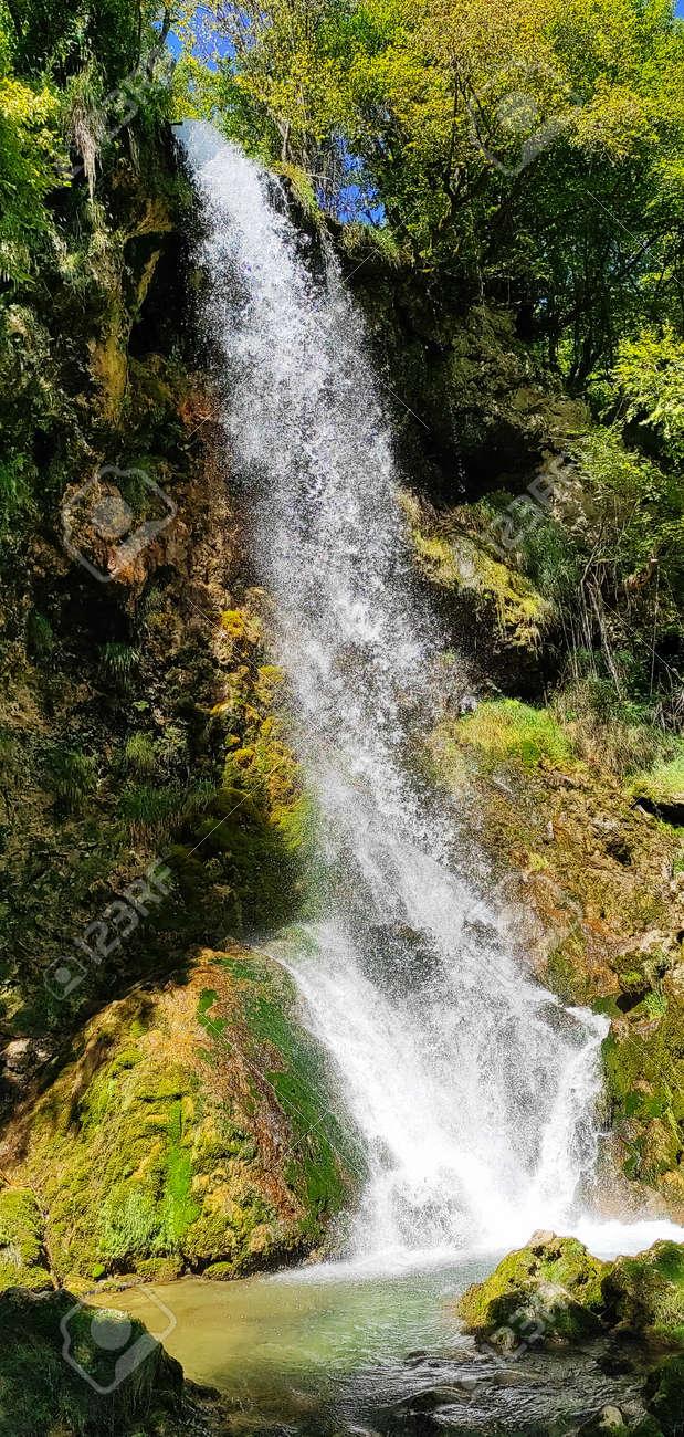 Over 25 meters Waterfall in Europe (Balkan, Serbia) - 155760973