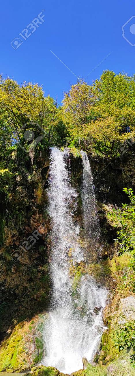 Over 25 meters Waterfall in Europe (Balkan, Serbia) - 155760333